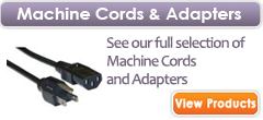 Machine Cords & Adapters